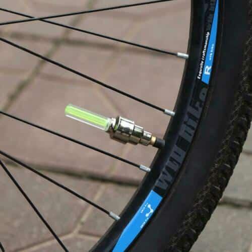 2 Pcs Cycle Bike Glow In The Dark Car Tyre Valve Cap