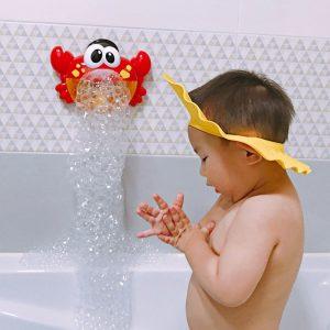 Baby Bath Bubble Crab Automatic Bubble Maker