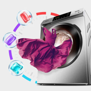 Colorful Laundry Gel Bead Capsule Dissolve Cleaner Washer