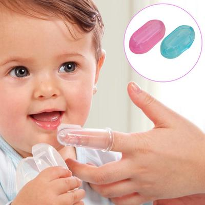 High Quality Baby Kids Silicone Finger Toothbrush