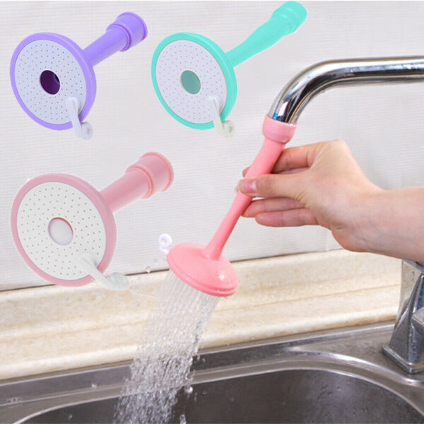 2 in 1 Silicone Kitchen Shower Splash Faucet Water-saving