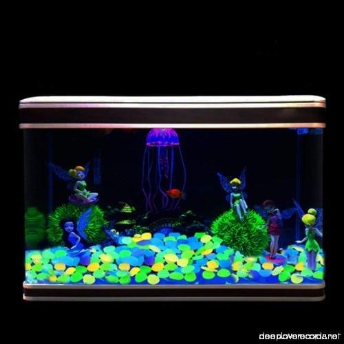 20 Pcs Luminous Pebble Stone