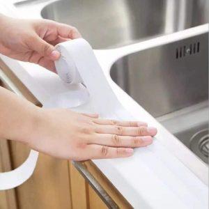 3.2 m x 38 mm Bathroom Shower Sink Bath Sealing Corner Strip Tape