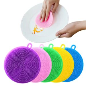 Multi-Functional Silicone Dish Sponges
