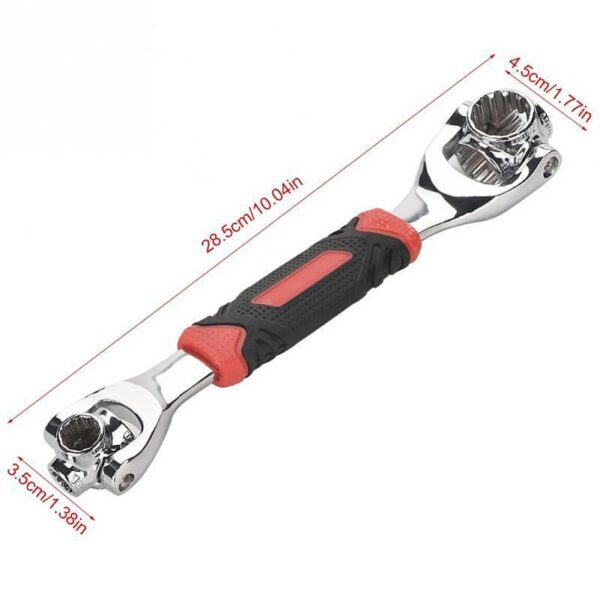 48-In-1 360 Degree Socket Tiger Wrench Spline Bolts